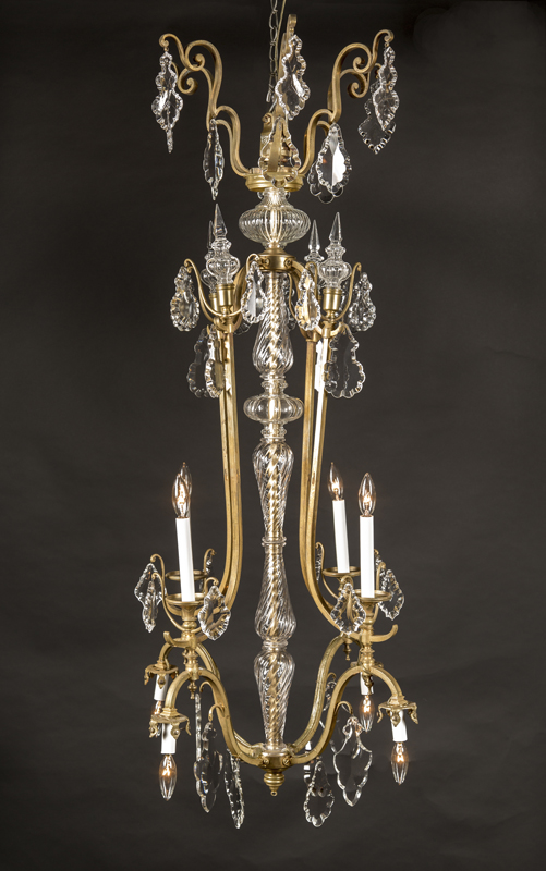 19th century louis xv chandelier french antique shop 19th century louis xv chandelier aloadofball Gallery